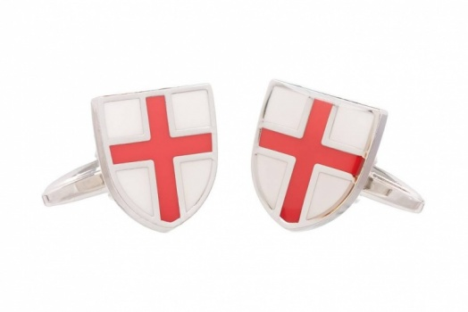 St George Flag Cufflinks